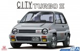Aoshima 05480 - 1/24 City Turbo II 1985 The Model Car No.60