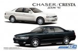 Aoshima 05653 - 1/24 Toyota JZX90 Chaser/Cresta Avante Super Lucent/Tourer '93 The Model Car No.93