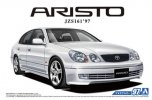 Aoshima 05668 - 1/24 Toyota Aristo JZS161 V300 Vertex Edition '97 The Model Car No.97