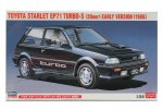 Hasegawa 20449 - 1/24 Toyota Starlet EP71 Turbo-S (3Door) Early Version 1986