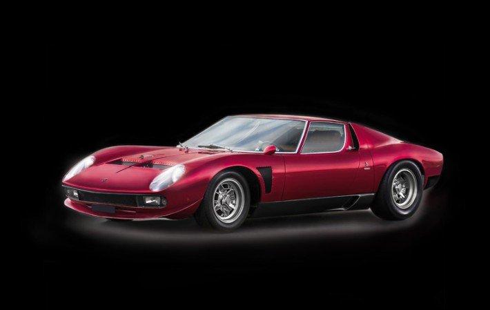 3649 1 24 Lamborghini Miura Jota Svj Italeri