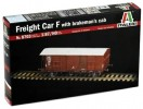 Italeri 8703 - 1/87 Freight Car F With Brakemans Cab