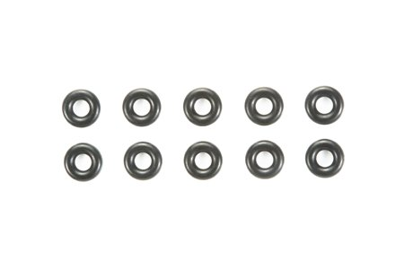 Tamiya #84195 - RC 3mm O-Ring (10pcs) - Black
